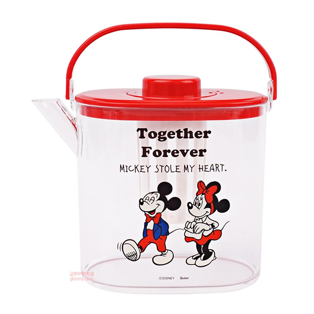 디즈니미키마우스 티백용 차망 물통 1200ml(포에버) (일) 487095