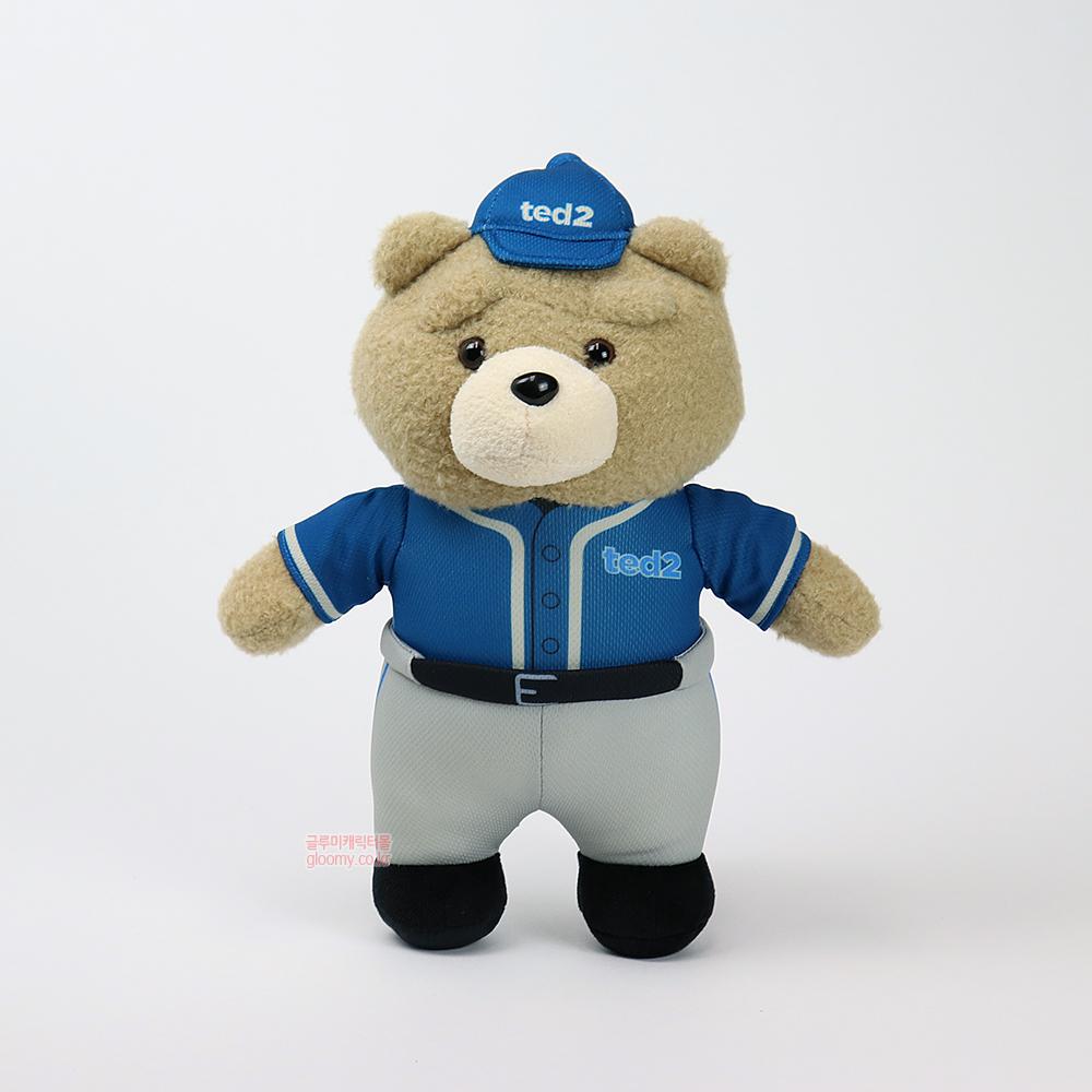 테드테드2 베이스볼 스탠딩 봉제인형 30cm(딥블루) 017084