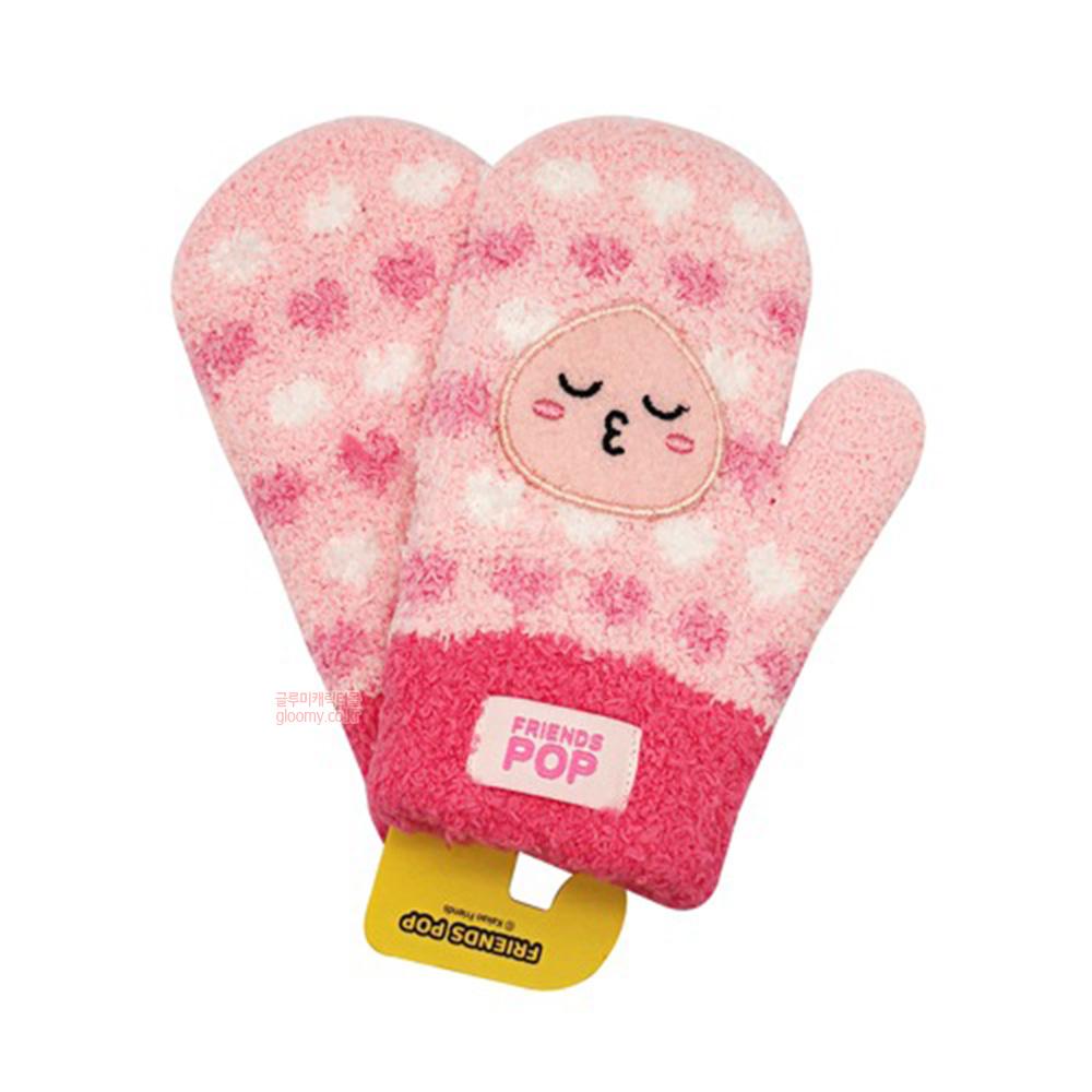 카카오프렌즈카카오프렌즈 프렌즈팝 컬러패턴 아동 엄지 날개사 장갑(어피치) 471560