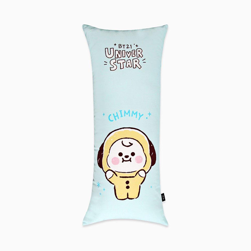 방탄소년단굿즈(방탄소년단굿즈)BT21 캐릭터 사각 바디필로우 쿠션(스케치) (치미) 985061