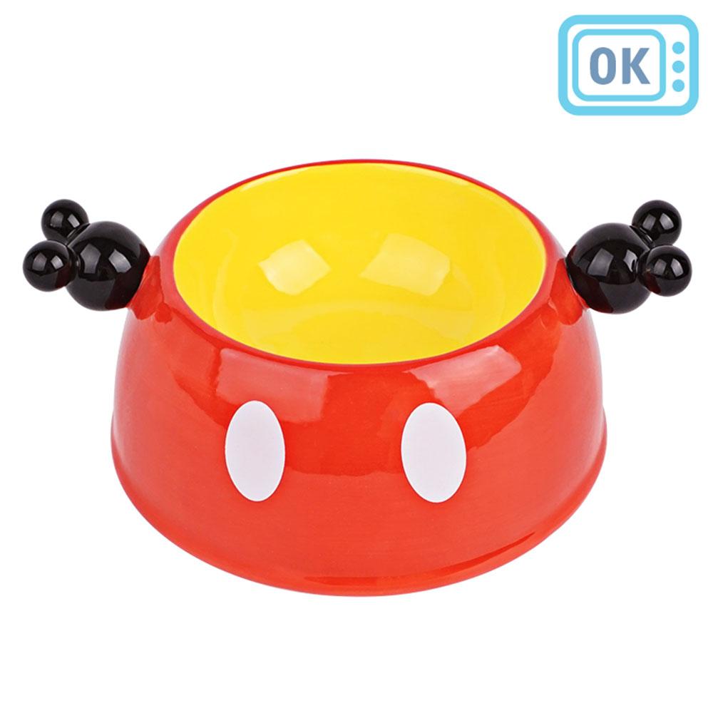 디즈니미키마우스 아이콘 캐릭터 세라믹 펫볼L(레드) 555934