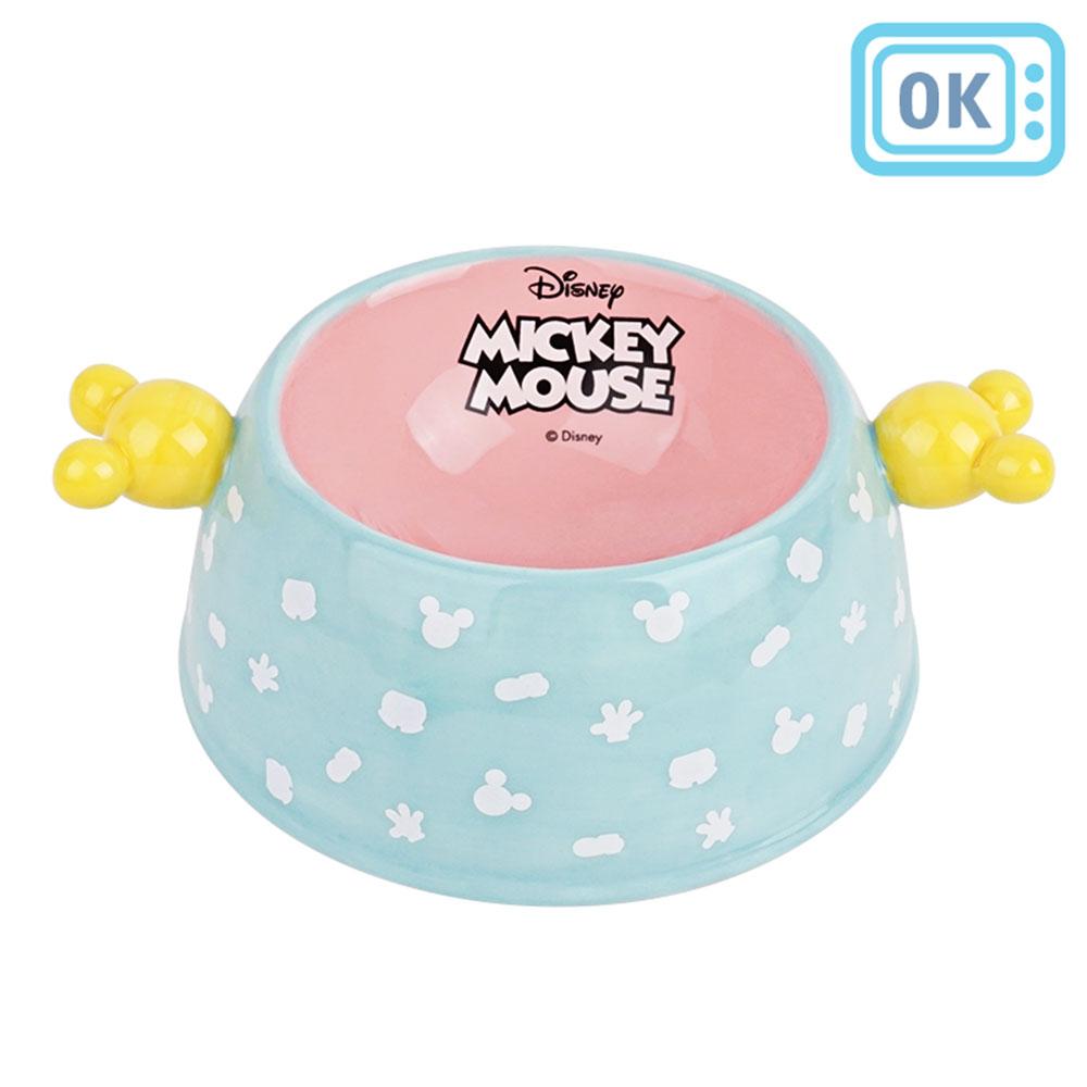 디즈니미키마우스 아이콘 캐릭터 세라믹 펫볼M(민트) 555927