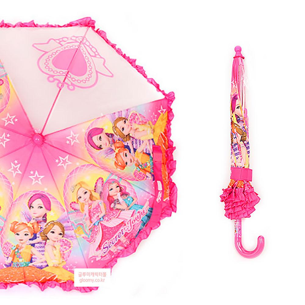 시크릿쥬쥬시크릿쥬쥬 하트 캐릭터 우산 40cm(반자동) 037540