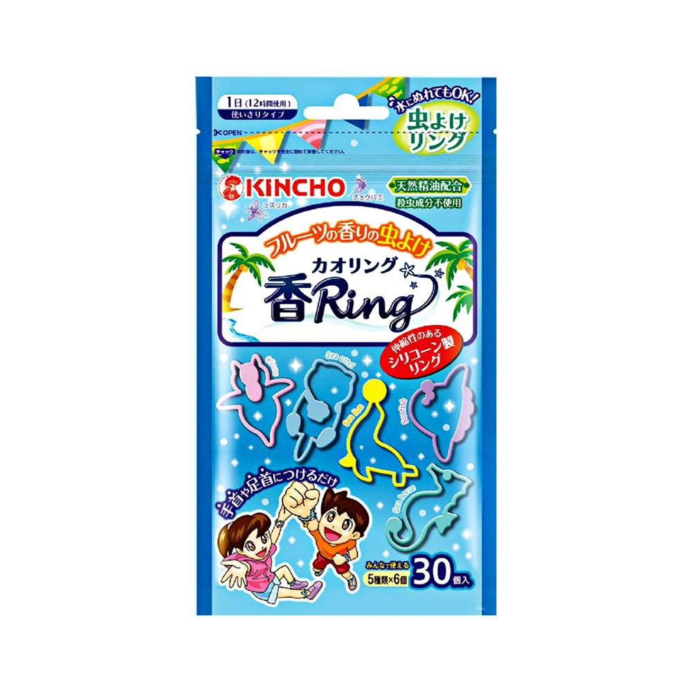 자체브랜드킨쵸 카우링 벌레퇴치팔찌(과일향) (일) 540798