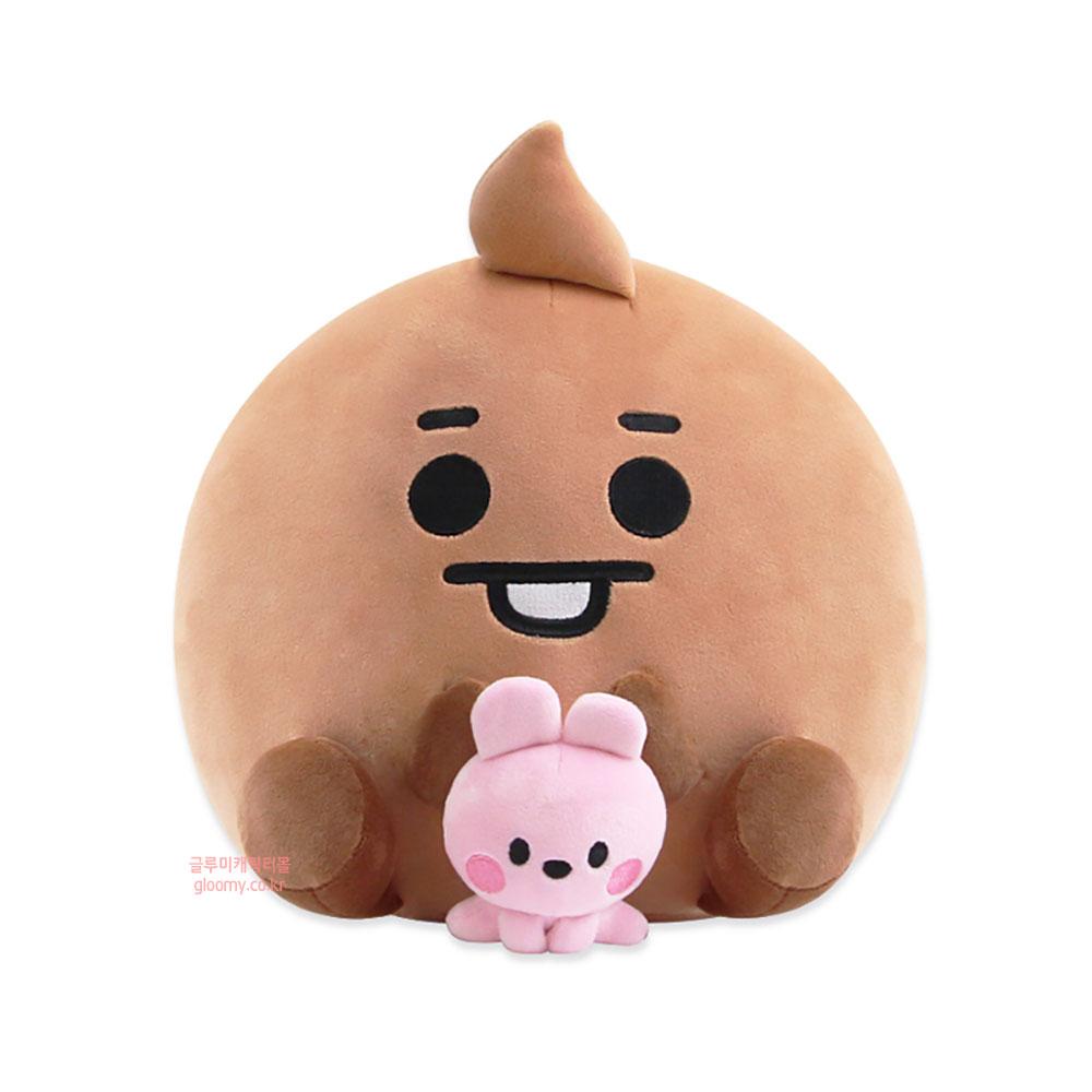 방탄소년단인형(방탄소년단굿즈)BT21 슈키 캐릭터 인형 쿠션(위드미) 986068